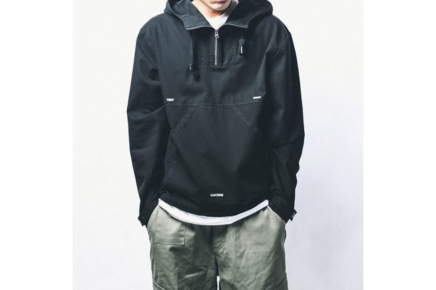 B-SIDE 18 AW Utility Pullover JKT (4)