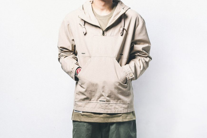 B-SIDE 18 AW Utility Pullover JKT (7)