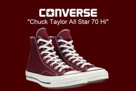 CONVERSE 18 FW 162051C Chuck Taylor All Star '70 Hi (1)