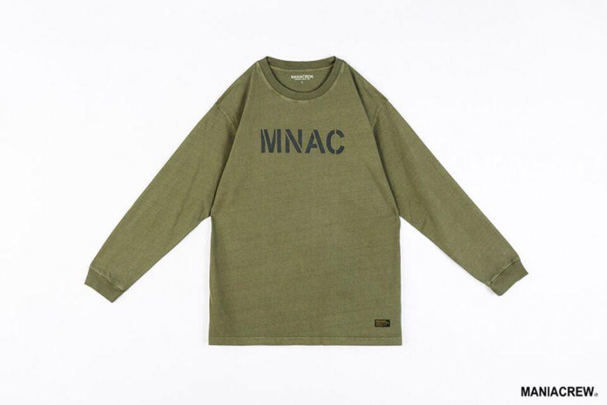 MANIA 1010(三)發售 18 SS MNAC Long Sleeve Print Tee (10)