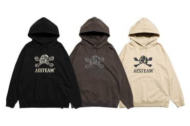 AES 113(六)發售 18 AW Aes Washed Skull Hoodie (0)