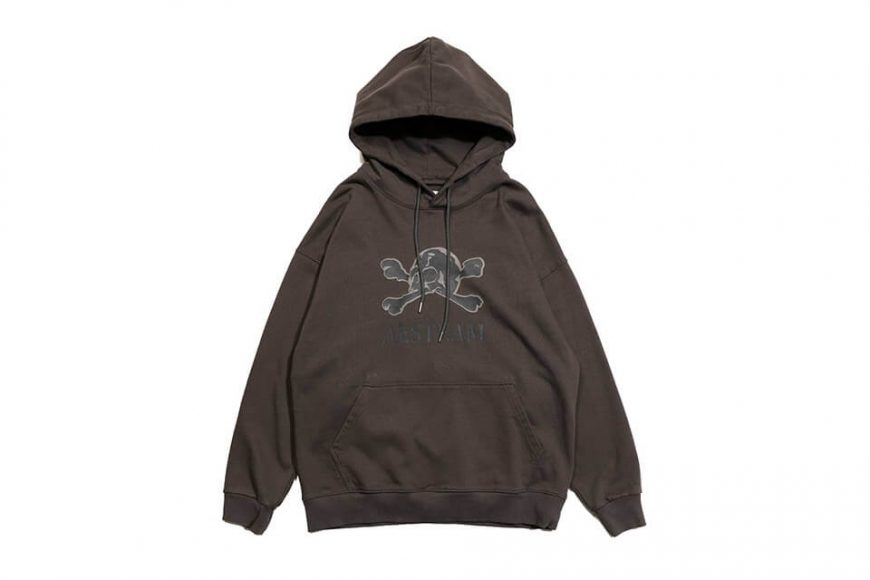 AES 113(六)發售 18 AW Aes Washed Skull Hoodie (2)