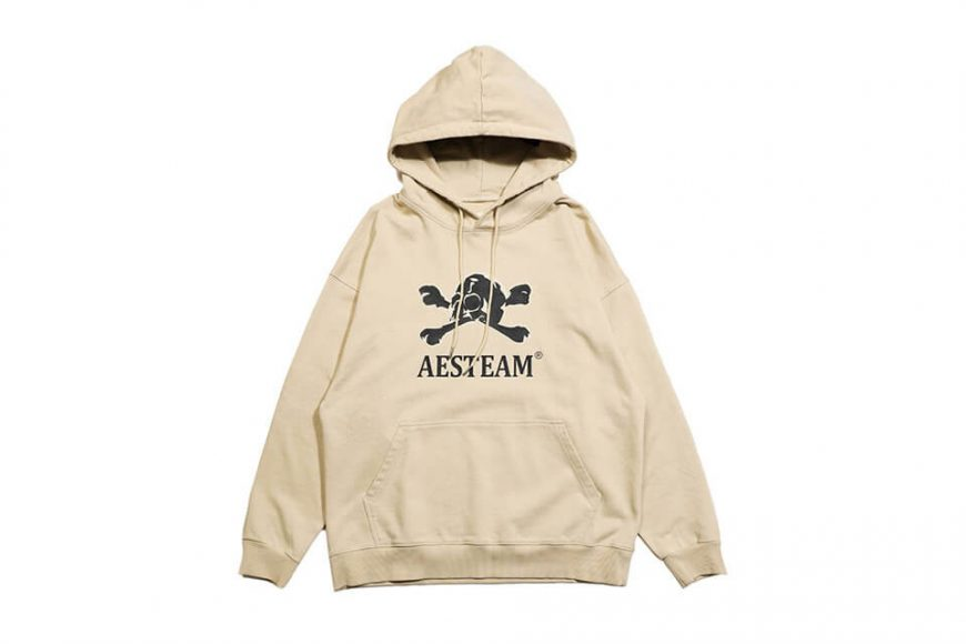 AES 113(六)發售 18 AW Aes Washed Skull Hoodie (3)