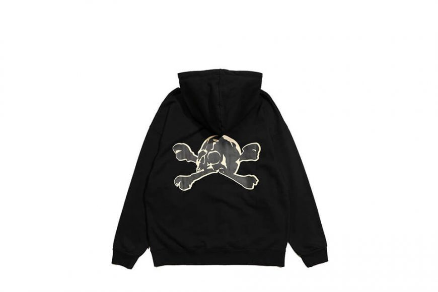 AES 113(六)發售 18 AW Aes Washed Skull Hoodie (4)