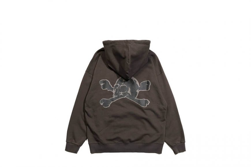 AES 113(六)發售 18 AW Aes Washed Skull Hoodie (5)