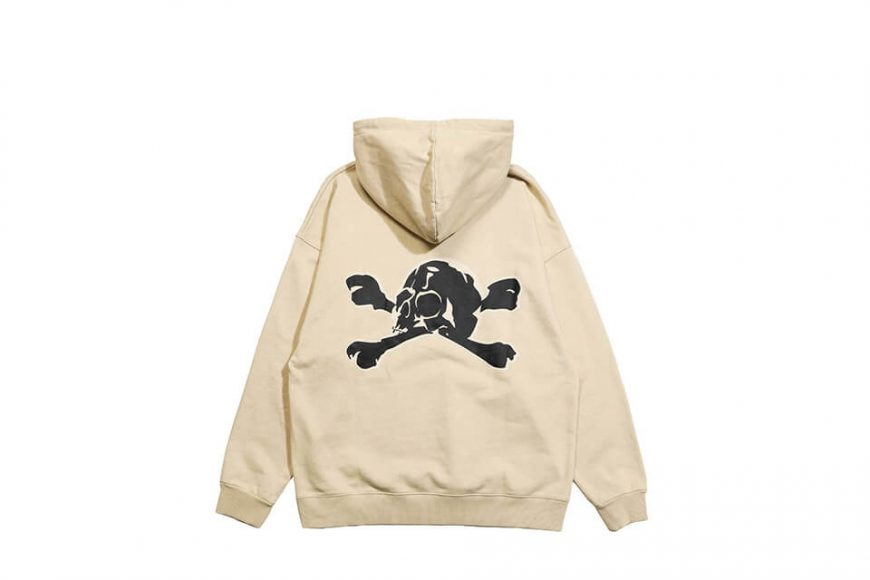 AES 113(六)發售 18 AW Aes Washed Skull Hoodie (6)