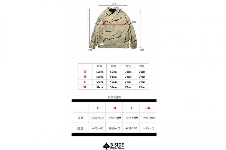 B-SIDE 117(三)發售 18 AW Doule Sided Coach JKT (11)