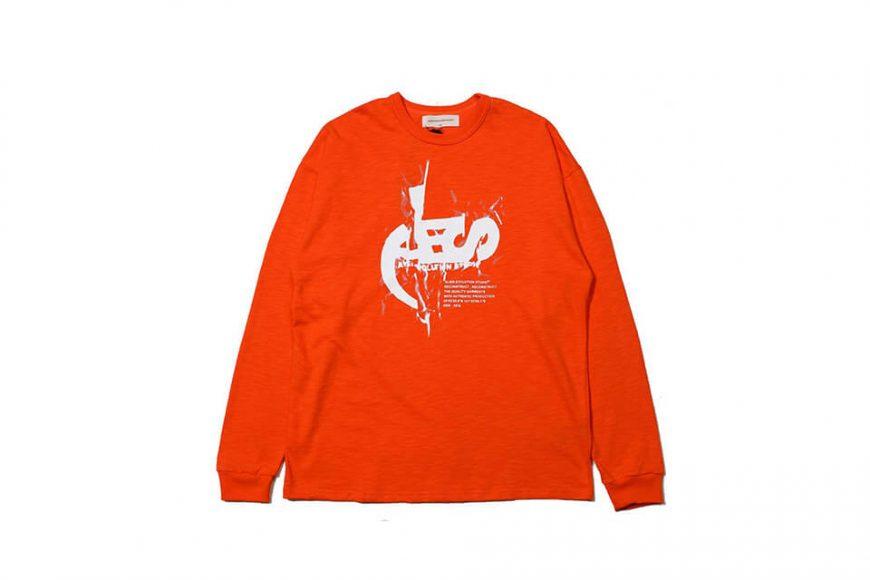 AES 1215(六)發售 18 AW Aes 10th Anniversary Logo LS Tee (4)