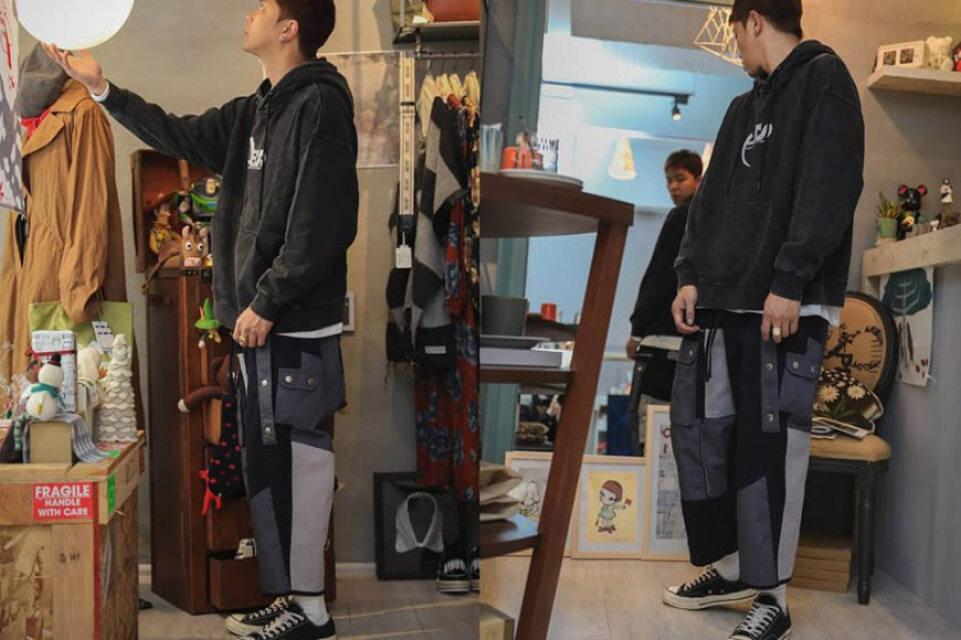 AES 1215(六)發售 18 AW Aes Stitched Pants (2)