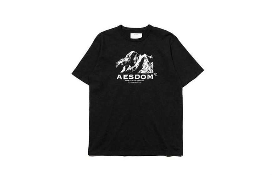 AES 1222(六)發售 18 AW Aesdom Mountain Tee (3)