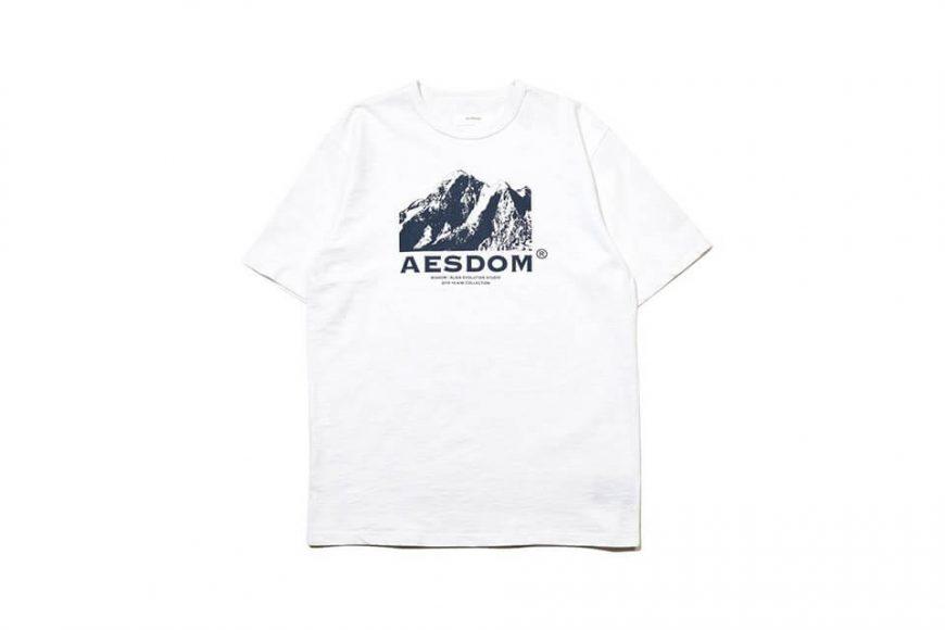 AES 1222(六)發售 18 AW Aesdom Mountain Tee (7)