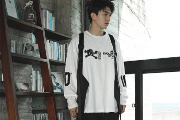 AES 128(六)發售 18 AW Aes Skull LS Tee ()