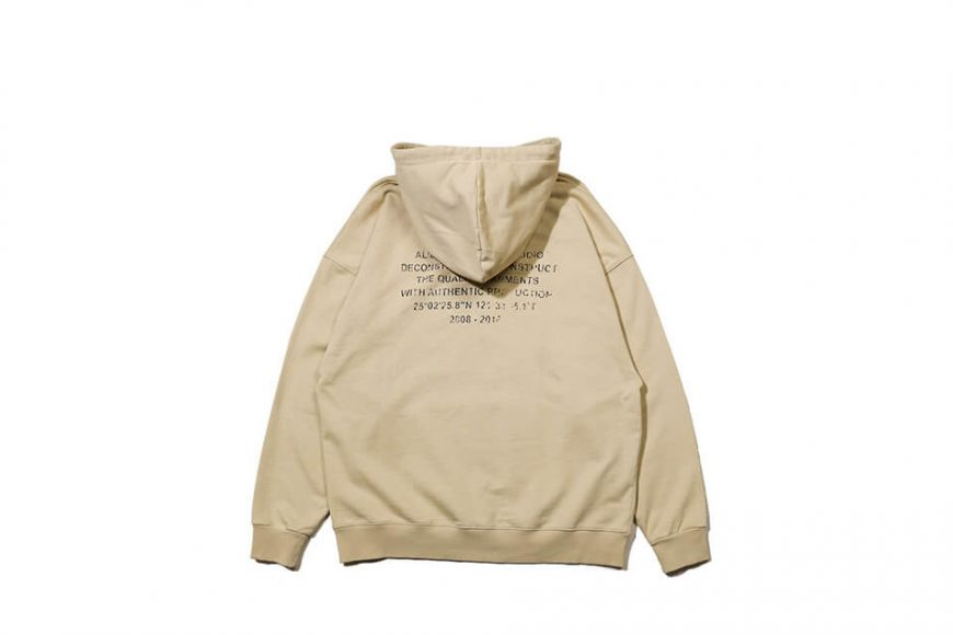 AES 128(六)發售 18 AW Aes Washed Logo Hoodie (10)