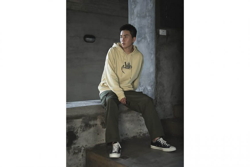 AES 128(六)發售 18 AW Aes Washed Logo Hoodie (4)