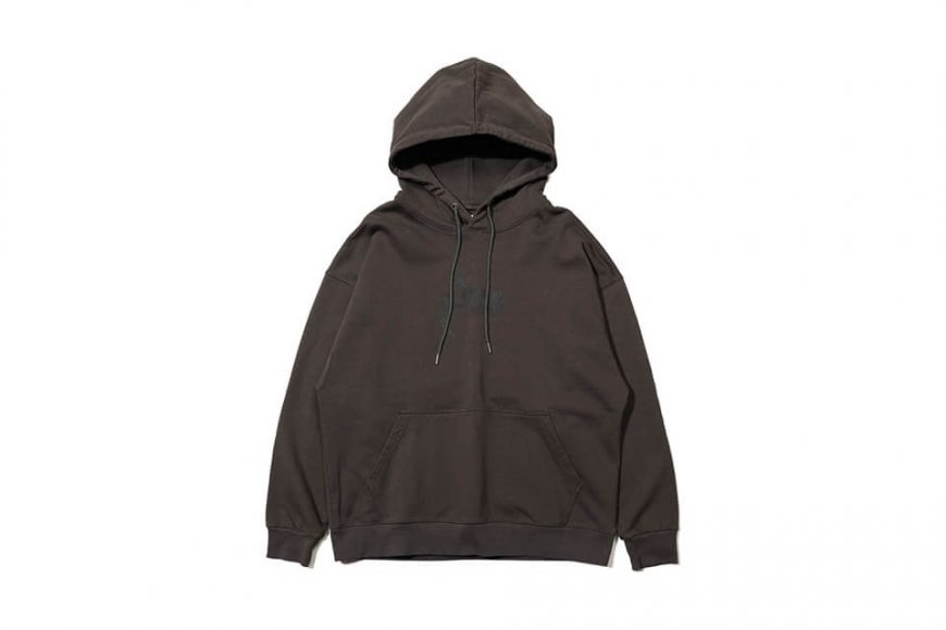 AES 128(六)發售 18 AW Aes Washed Logo Hoodie (7)