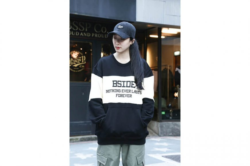 B-SIDE 1226(三)發售 18 AW 2 Color Sweater (1)