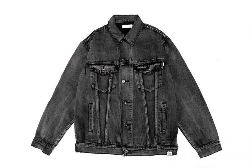 NextMobRiot 18 AW Yolo Hard Washed Denim Jacket (11)
