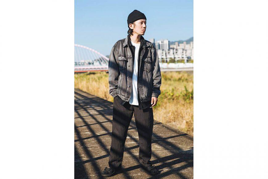 NextMobRiot 18 AW Yolo Hard Washed Denim Jacket (3)