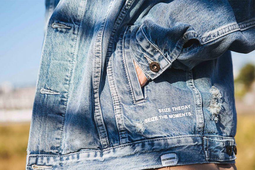 NextMobRiot 18 AW Yolo Hard Washed Denim Jacket (5)