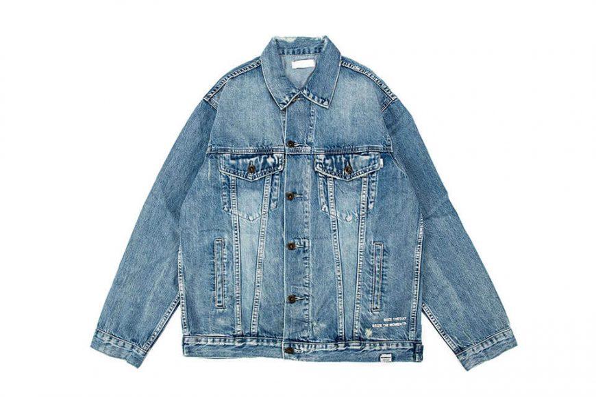 NextMobRiot 18 AW Yolo Hard Washed Denim Jacket (9)
