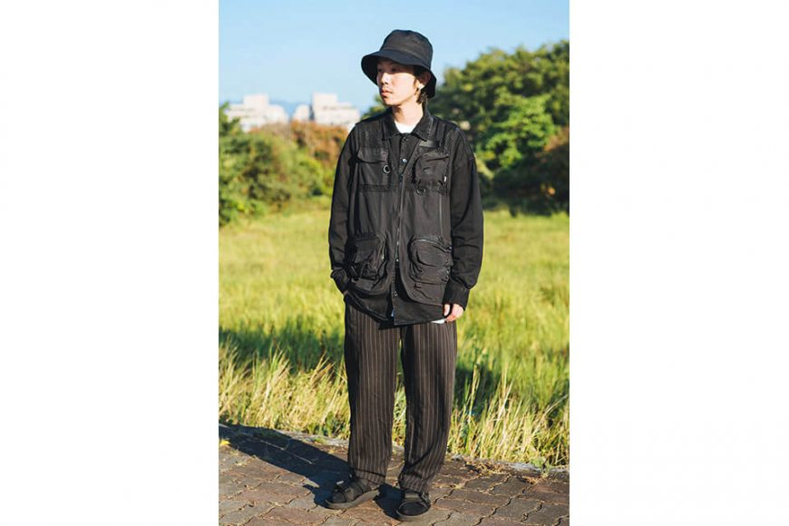 NextMobRiot 18 AW Yolo Mesh Cargo Vest (1)