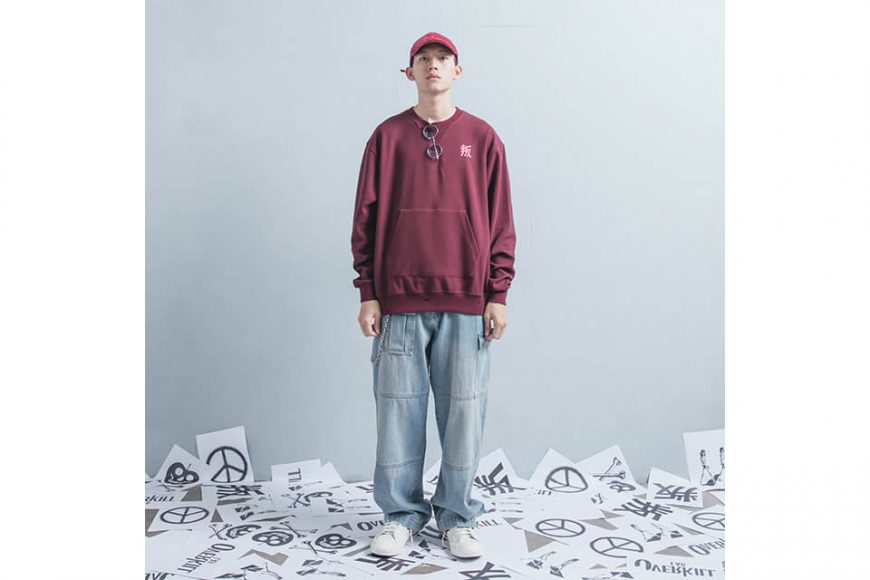 OVKLAB 1226(三)發售 18 AW Damage Sweatshirt (1)