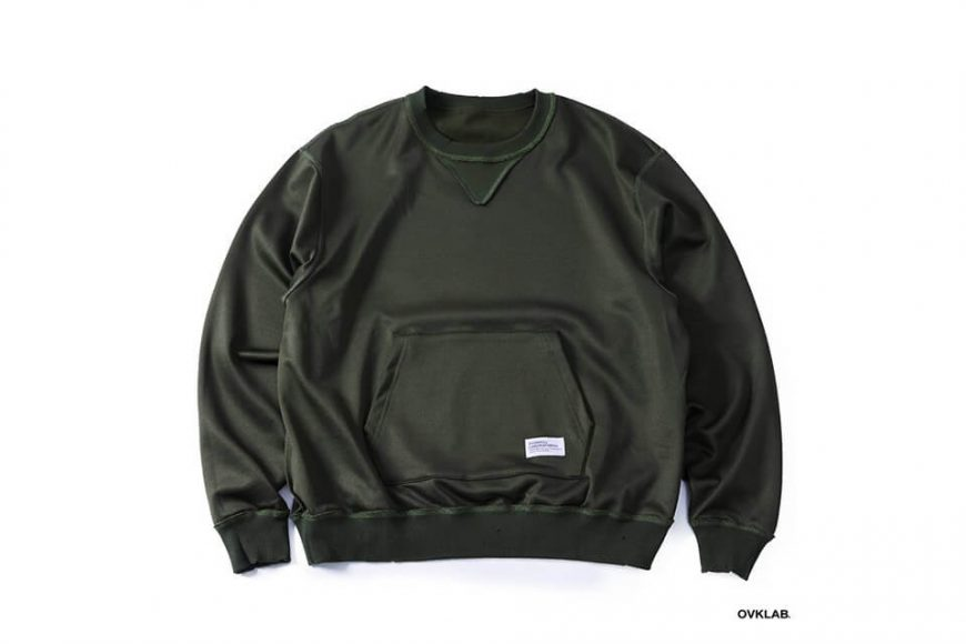 OVKLAB 1226(三)發售 18 AW Damage Sweatshirt (15)