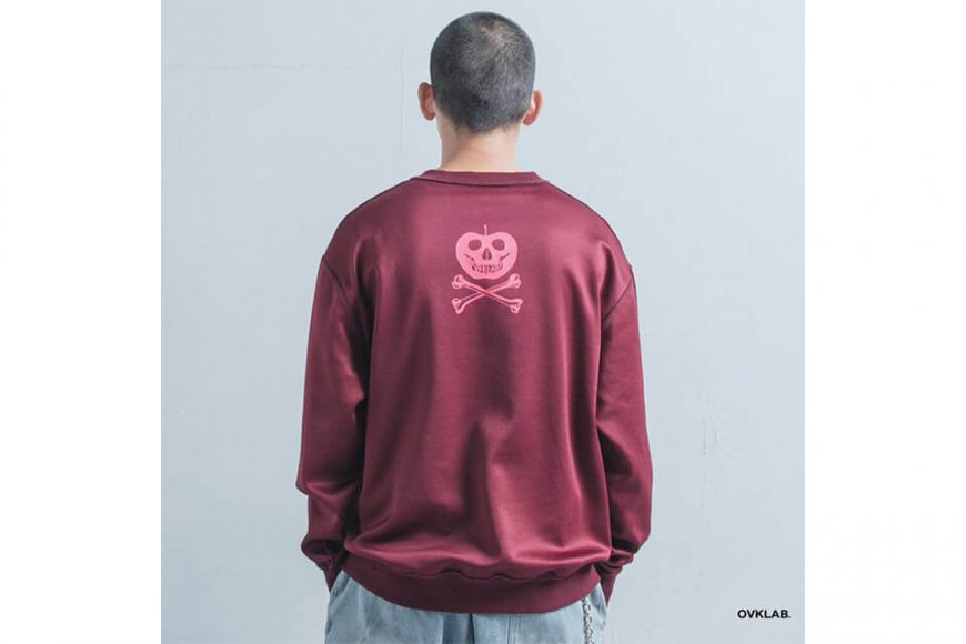 OVKLAB 1226(三)發售 18 AW Damage Sweatshirt (5)