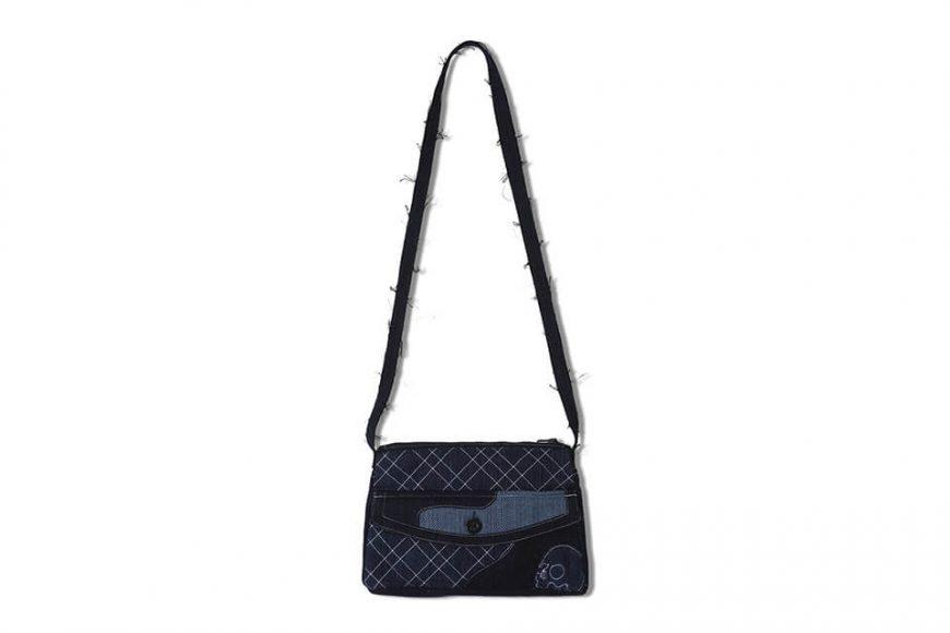 AES 112(六)發售 18 AW Aes Japan Indigo Sashiko Soulder Bag (1)