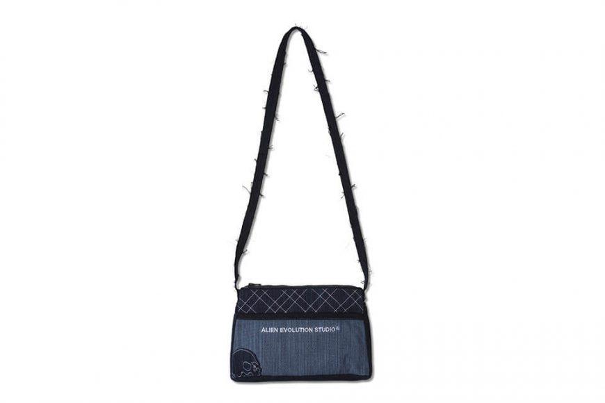 AES 112(六)發售 18 AW Aes Japan Indigo Sashiko Soulder Bag (2)