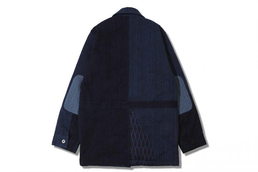AES 18 AW Aes Japan Indigo Sashiko Coat (2)