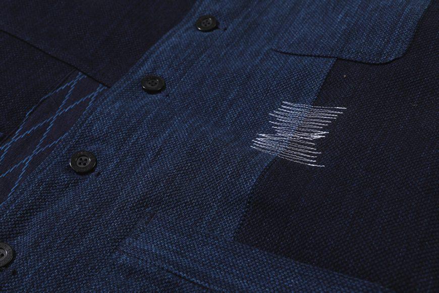 AES 18 AW Aes Japan Indigo Sashiko Coat (3)