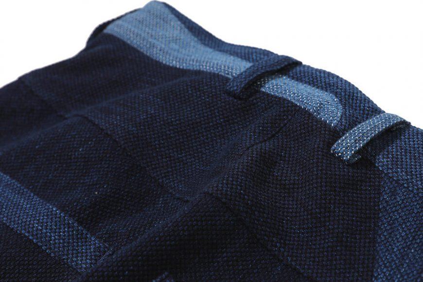 AES 18 AW Aes Japan Indigo Sashiko Trousers (4)