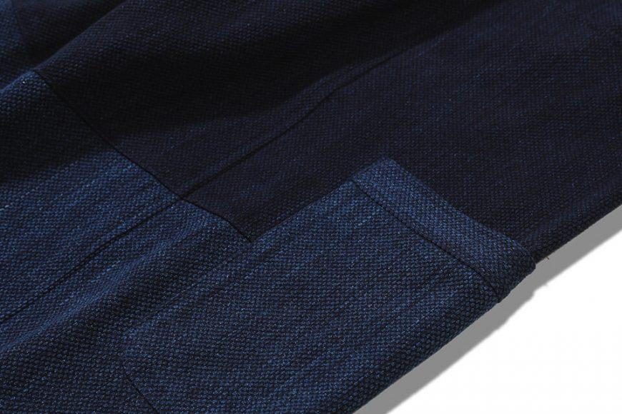 AES 18 AW Aes Japan Indigo Sashiko Trousers (5)