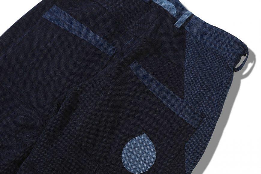 AES 18 AW Aes Japan Indigo Sashiko Trousers (6)