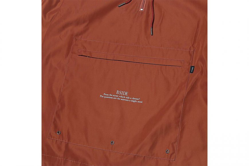 B-SIDE 18 AW BS Pullover Windbreaer (14)