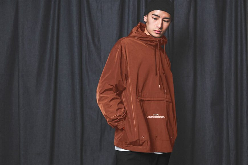 B-SIDE 18 AW BS Pullover Windbreaer (2)