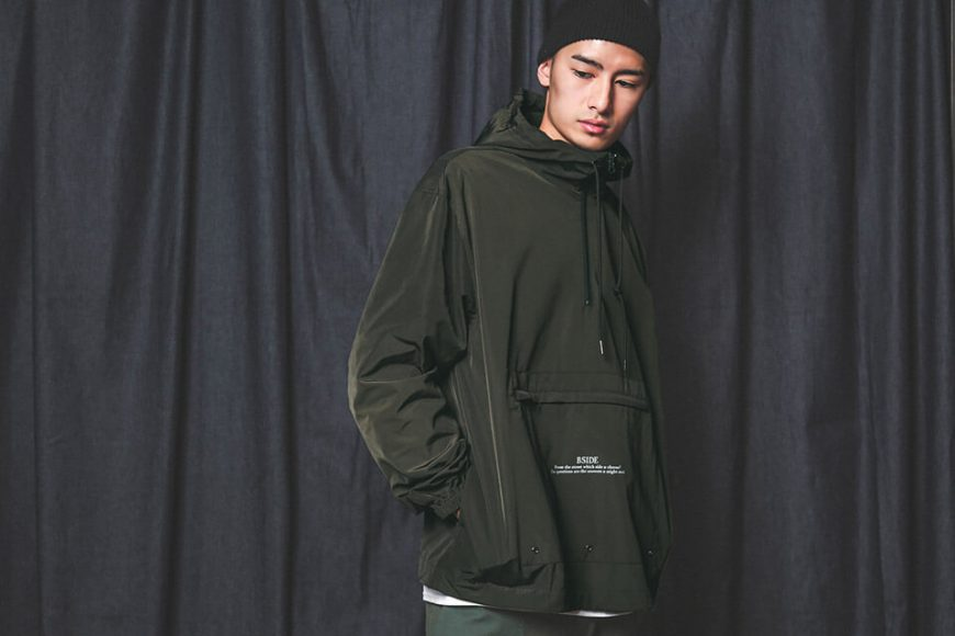 B-SIDE 18 AW BS Pullover Windbreaer (3)