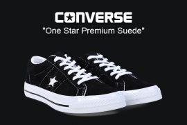 CONVERSE 19 FW 158369C One Star Premium Suede (1)