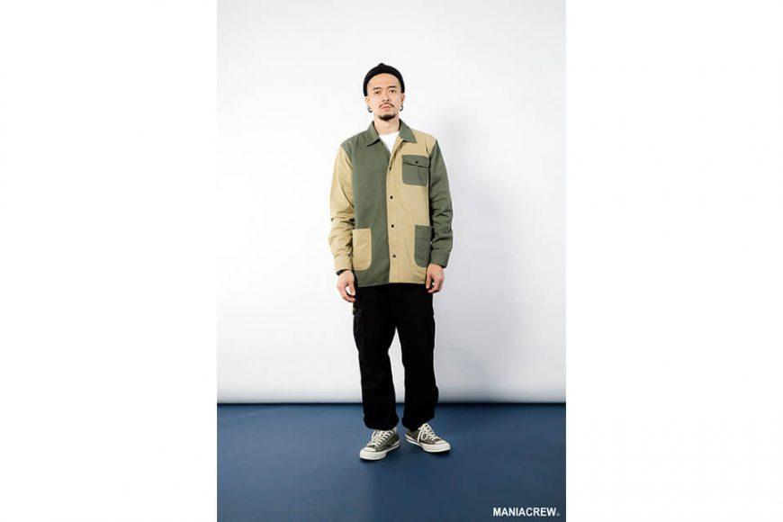 MANIA 18 AW 2 Tone Shirt (1)