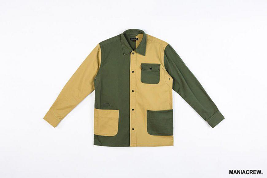 MANIA 18 AW 2 Tone Shirt (4)