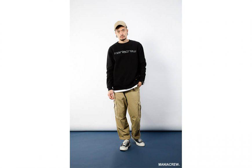 MANIA 18 AW Heavyweight Dyed Sweatshirt (1)
