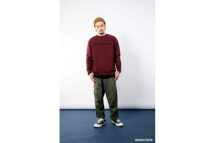 MANIA 18 AW Heavyweight Dyed Sweatshirt (2)