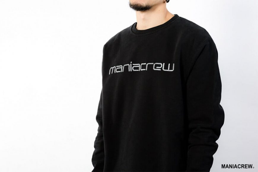 MANIA 18 AW Heavyweight Dyed Sweatshirt (4)