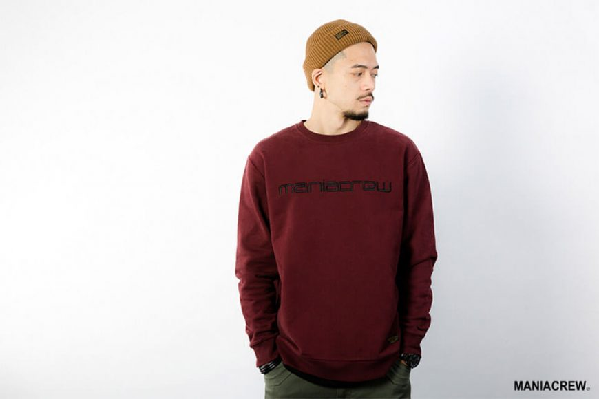 MANIA 18 AW Heavyweight Dyed Sweatshirt (6)