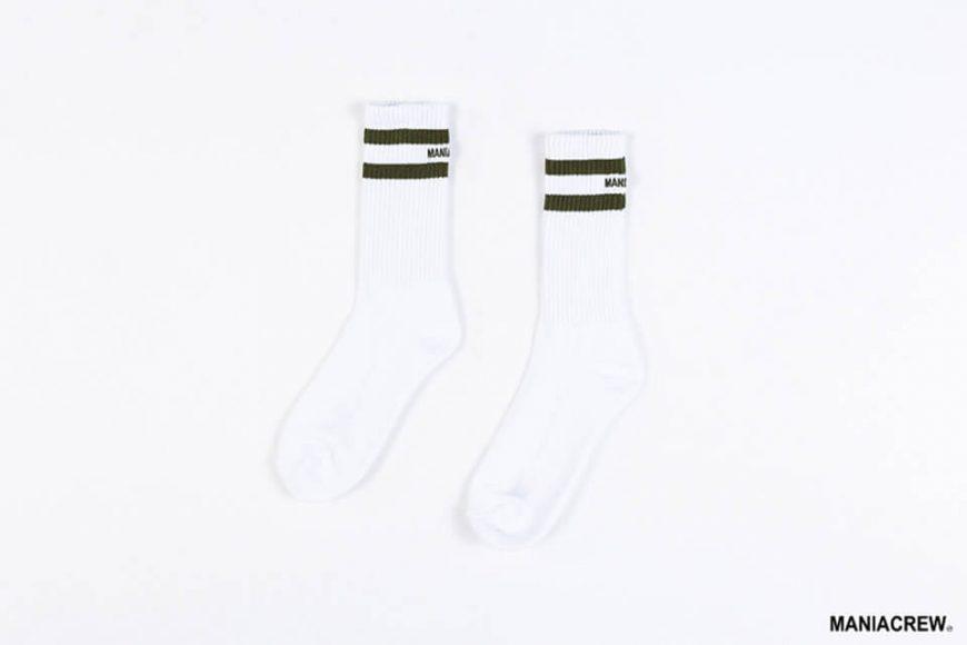 MANIA 18 AW Pinstripe Socks (3)