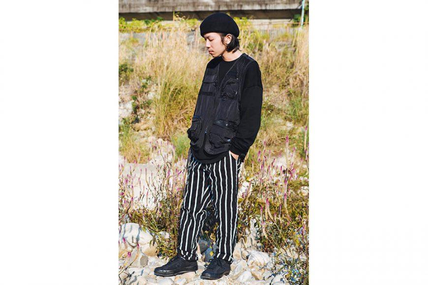 NextMobRiot 130(三)發售 18 AW Stripe Wave Loosely Capri-Pants (2)