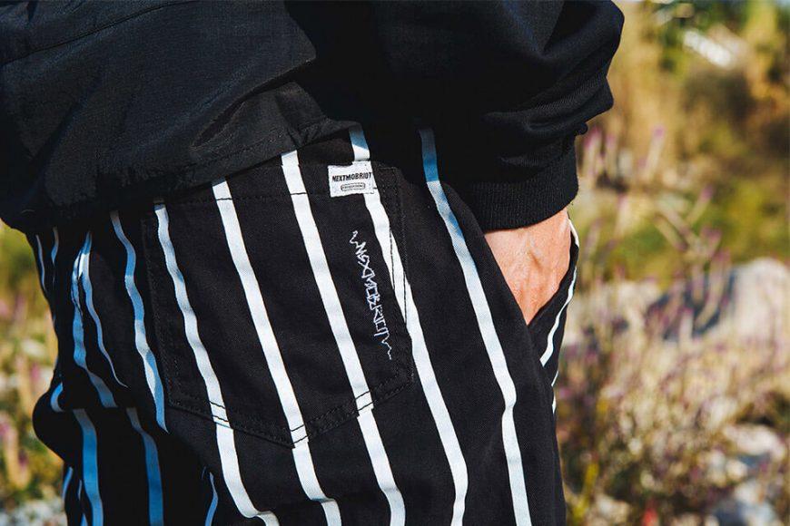 NextMobRiot 130(三)發售 18 AW Stripe Wave Loosely Capri-Pants (3)