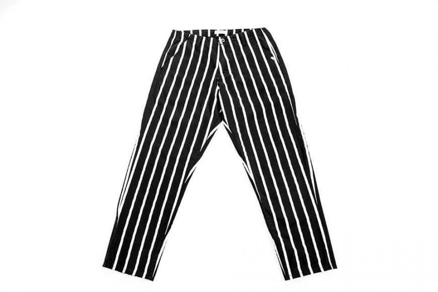 NextMobRiot 130(三)發售 18 AW Stripe Wave Loosely Capri-Pants (4)