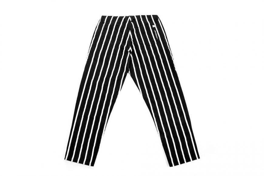 NextMobRiot 130(三)發售 18 AW Stripe Wave Loosely Capri-Pants (5)